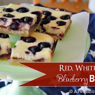 Red, White, and Blueberry Bars.