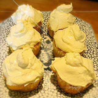 Triple Lemon Cup Cakes