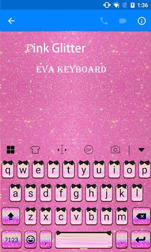 玩免費遊戲APP|下載Pink Glitter Eva Keyboard -Gif app不用錢|硬是要APP