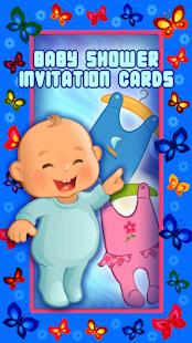 Baby Shower Invitation Cards - náhled