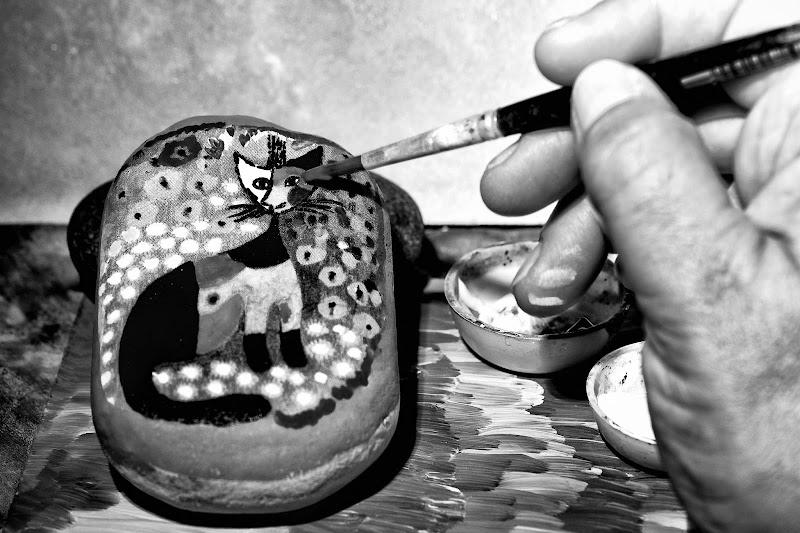 Creazioni sui sassi di Barbara Surimi