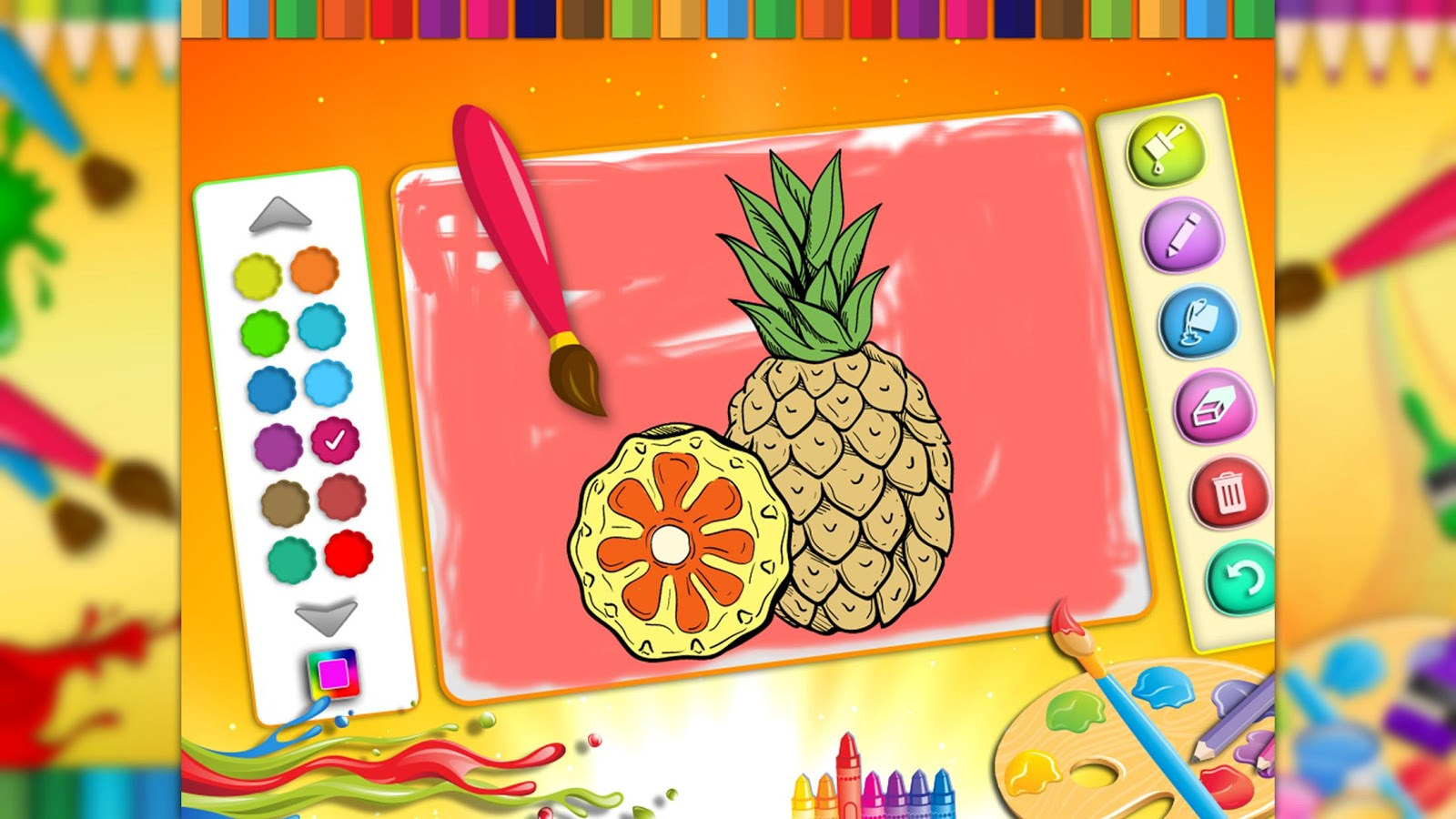 Color Me for Kids : Coloring Pages Game- screenshot