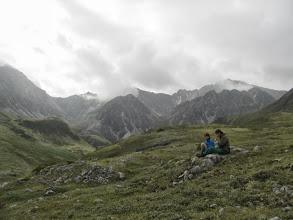 Photo: Вид на горы на юго-востоке с пер. Обзорного