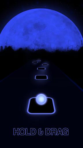 Más cerca: capturas de pantalla de The Chainsmokers Tiles Neon Jump 4