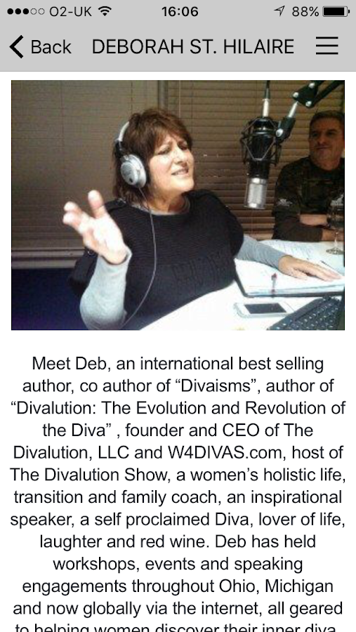 W4DIVAS Women's Radio- screenshot
