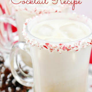 Peppermint White Russian Cocktail.