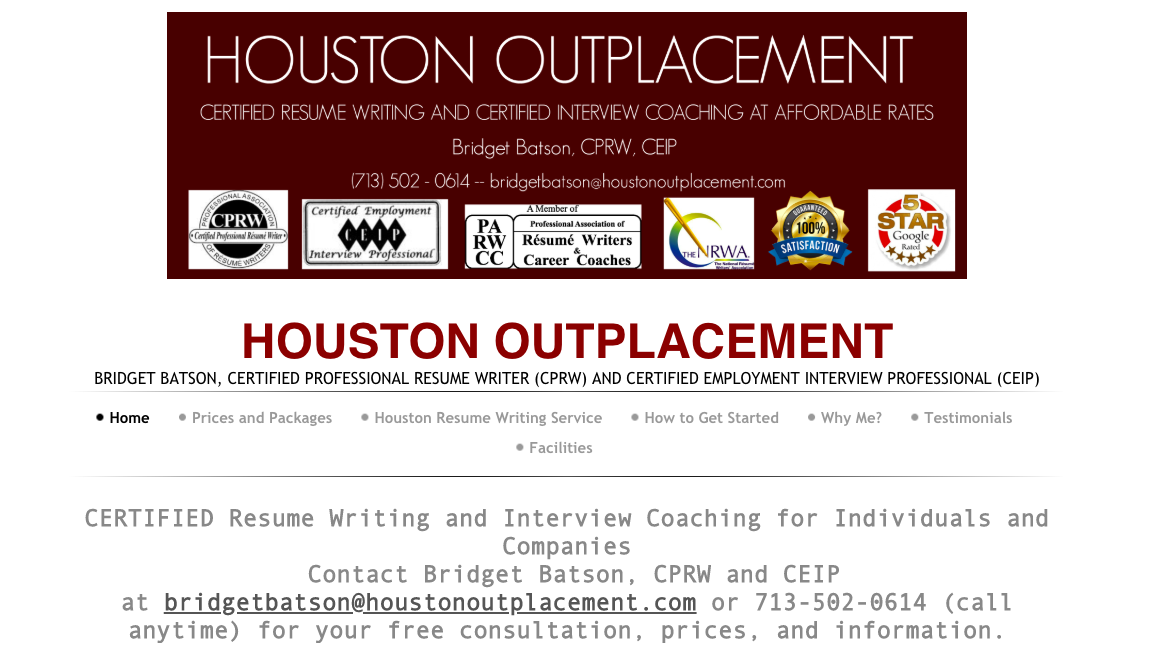 Best resume writing service 2014 houston