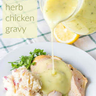 Homemade Herb Chicken Gravy.