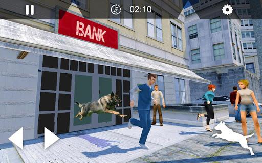 Télécharger US Police Dog Duty - Simulateur de chien 2019 apk mod screenshots 5