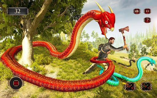 Télécharger Snake Simulator Anaconda Attack Game 3D APK MOD (Astuce) screenshots 5