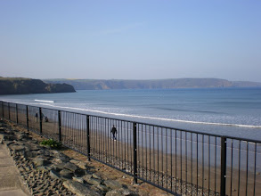 Photo: From Broad Haven to Solva (Broad Haven sea front)