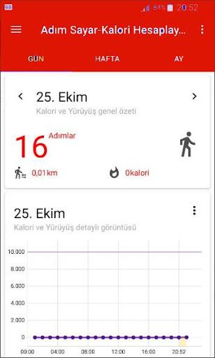 Walking and Counting Calories Step screenshot 1