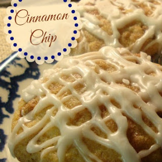 Cinnamon Chip Applesauce Muffins.
