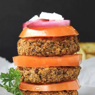Greek Quinoa Burgers.