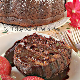CHOCOLATE CHUNK BUNDT CAKE Recipe
