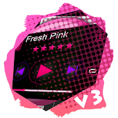 Fresh Pink PlayerPro Skin
