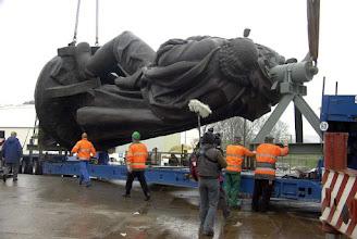 Photo: Samtens - Treptower Denkmal zur Sanierung in Samtens