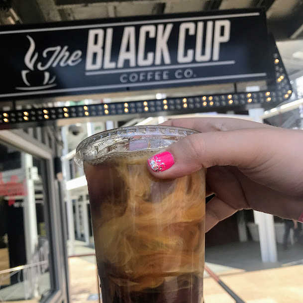 Coconut cold brew, The Black Cup Coffee Co.