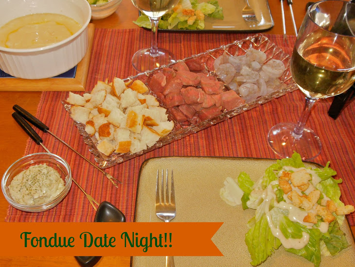 Surf and Turf Fondue for Romantic Date Night Dinner Recipe