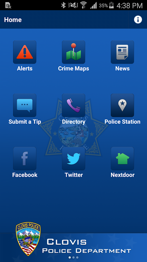 Clovis PD Mobile- screenshot