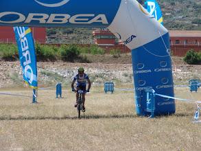Photo: Manolo cruzando la meta en la Extrema y dura 2009