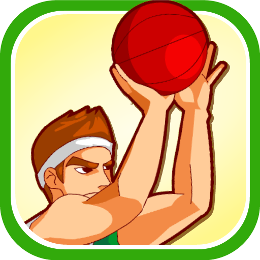スーパー バスケットボール シュート 體育競技 LOGO-玩APPs