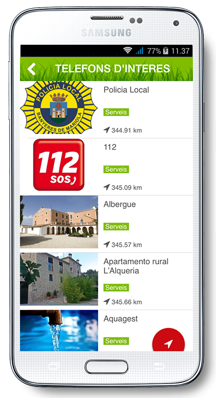 Banyeres App- screenshot