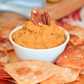 Spicy Pecan Pumpkin Hummus