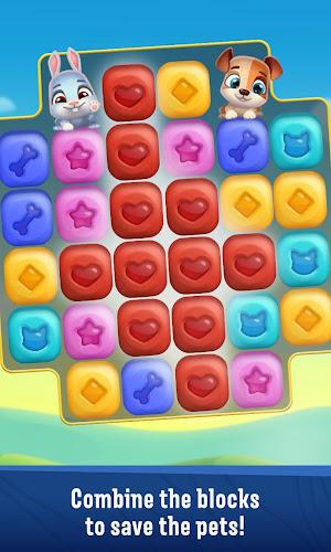 Pet Rescue Puzzle Saga Android App Screenshot