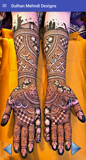 Bridal Mehndi Designs 2019 - Dulhan Wedding Mehndi 1.6 screenshots 2