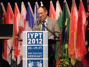 Photo: Председатель локального оргкомитета турнира Рудольф Лен (Германия)