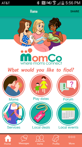 MomCo: Where Moms Connect