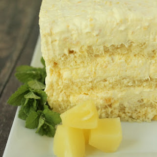 Easy Pineapple Cake.