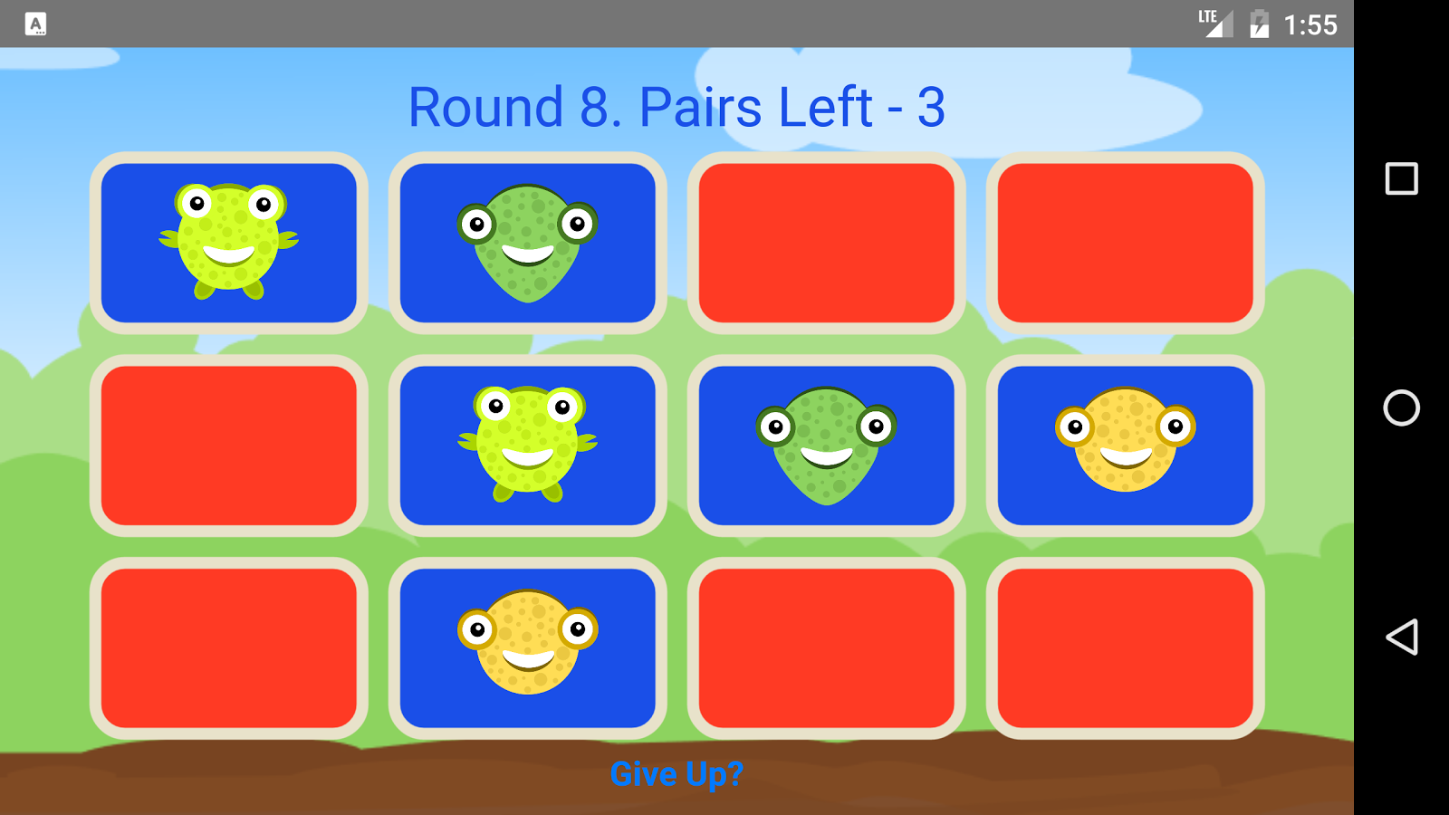 Basic Pairs- screenshot