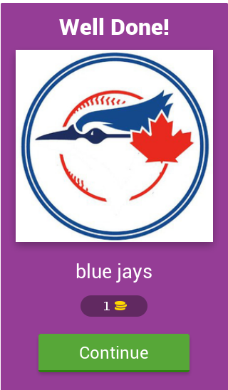 MLB Team Quiz- screenshot