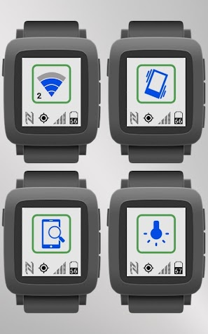 Toggles for Pebble Screenshot