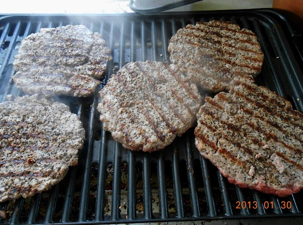 There is nothing that matches the flavor of fresh ground burgers.