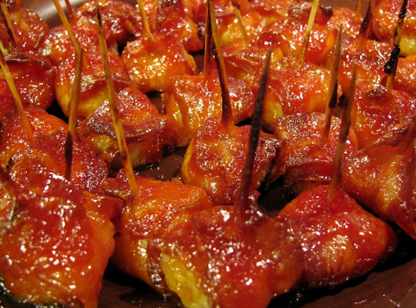 Water Chestnuts Wrapped In Bacon W/brown Sugar Recipe