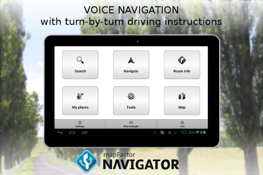 MapFactor GPS Navigation Maps  screenshots 10