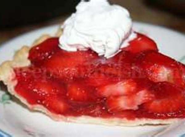 Fresh Strawberry Summertime Pie By Freda