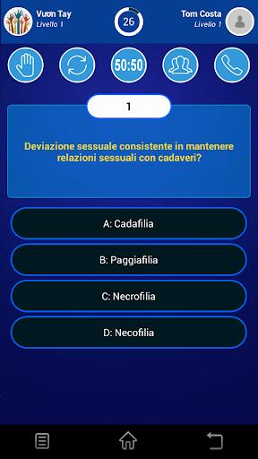 Millionaire Italy 2018 1.0.0.20180417 screenshots 6
