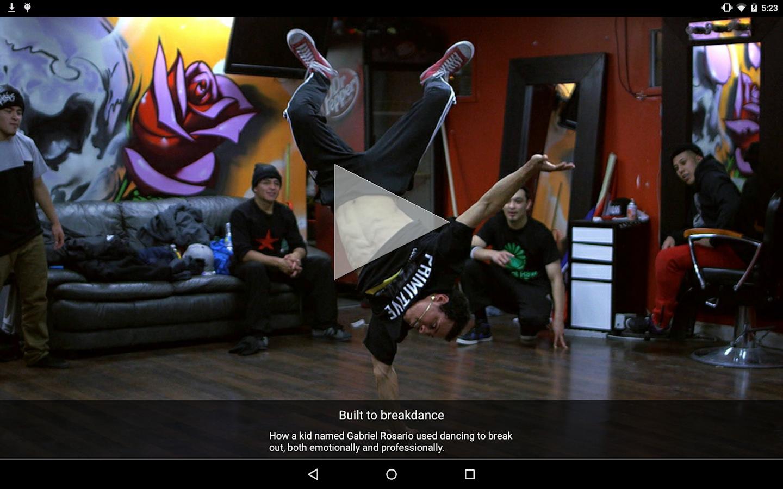 TouchVision- screenshot