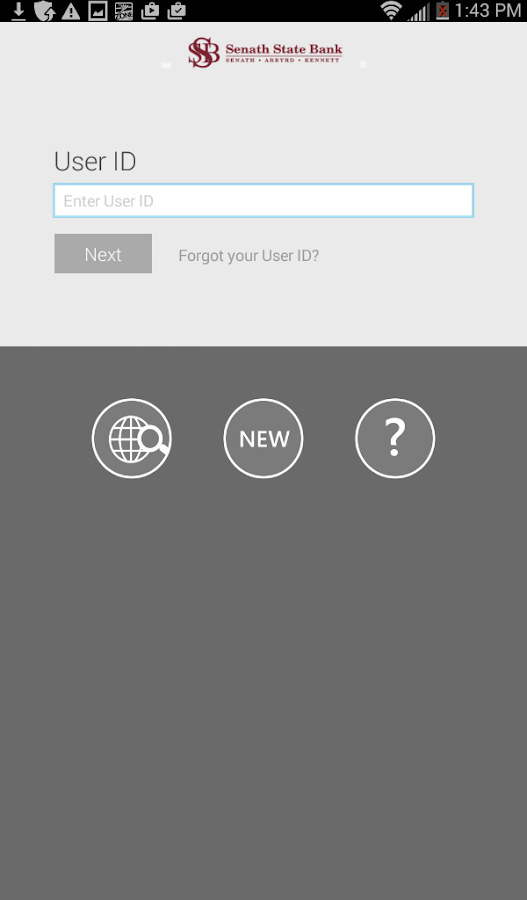 Senath State Bank Mobile App- screenshot