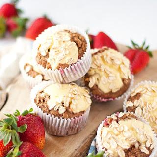 Strawberry And Cream Cheese Breakfast Muffins