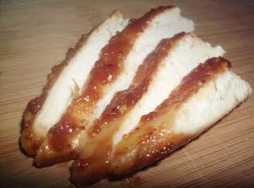 Lilly's Teriyaki Baked Chicken.