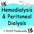 Hemodialysis & Peritoneal Dialysis 1200 Flashcards icon