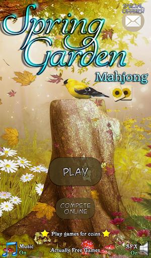Hidden Mahjong: Spring Garden