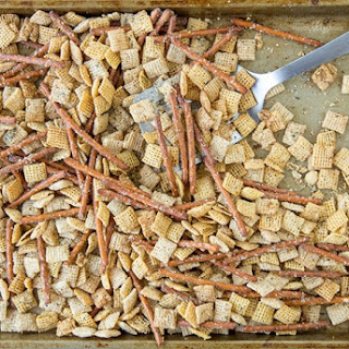 Garlic Bread Chex Mix