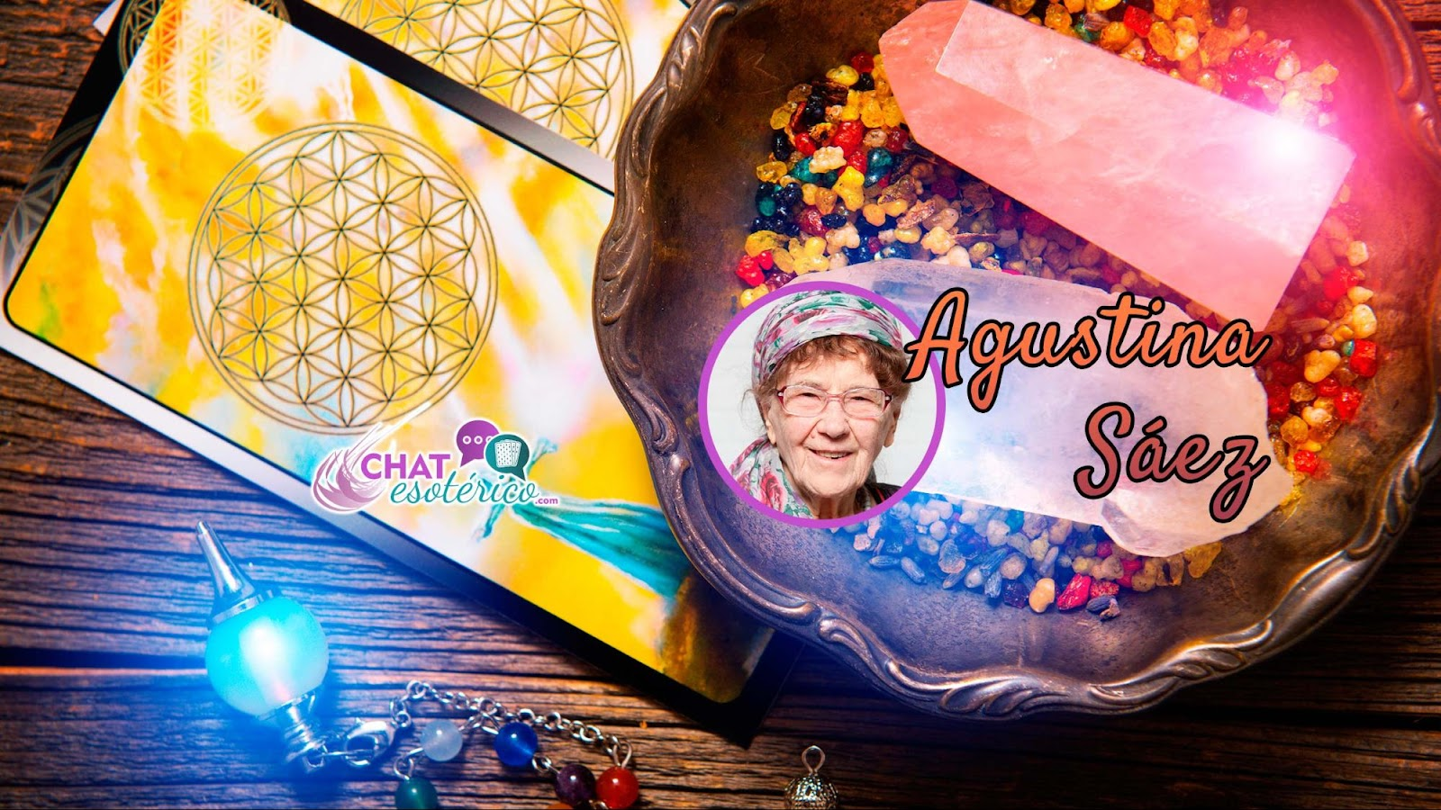VIDENTES BUENAS 806: Tarot 806 de Agustina Sáez vidente buena 806 y tarotista fiable recomendada