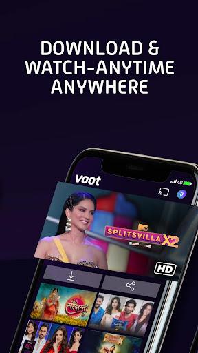 Voot - Watch Colors, MTV Shows, Live News & more screenshot 6